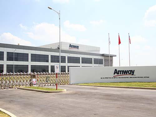 Nhà máy Amway Bình Dương đạt 2 chứng nhận quốc tế
