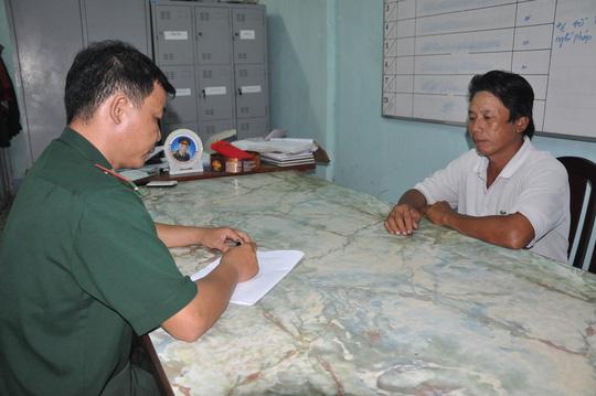 Bình ma làm việc với cơ quan chức năng tỉnh Bà Rịa-Vũng Tàu