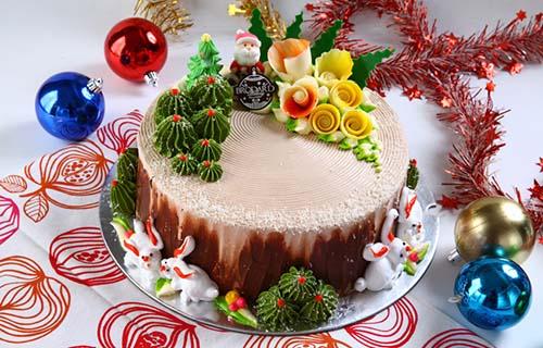 Bánh Giáng sinh của Brodard