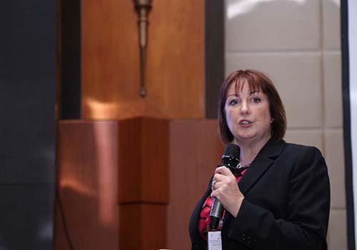 TS Sheila T.Guatier - Giám đốc khoa học toàn cầu Early Life Nutrition của Tập đoàn Dinh dưỡng DSM Thụy Sĩ