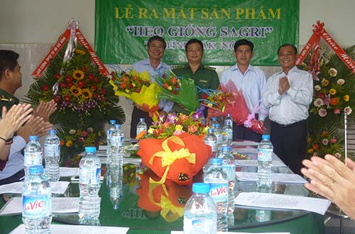 """Lễ ra mắt sản phẩm """"Heo giống Sagri"""" trên địa bàn tỉnh Đắk Nông"""
