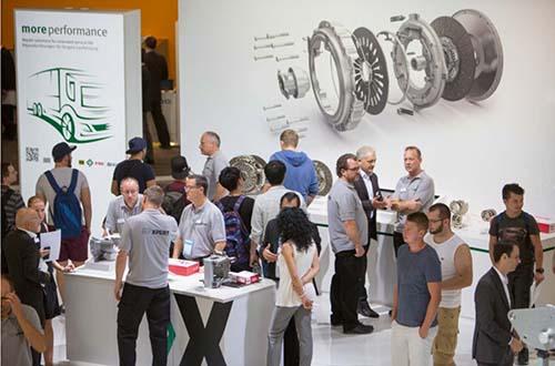 Một góc triển lãm Automechanika tại Đức