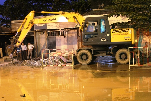 Sawaco sẽ cúp nước trong vòng 11 giờ để phục vụ thi công đường An Dương Vương