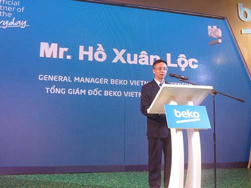Sản phẩm gia dụng Beko xâm nhập thị trường Việt Nam