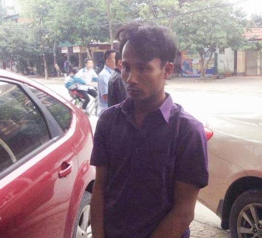 Lê Văn Ngọ bị bắt giữ khi đang chuẩn bị thực hiện hành vi trộm cắp