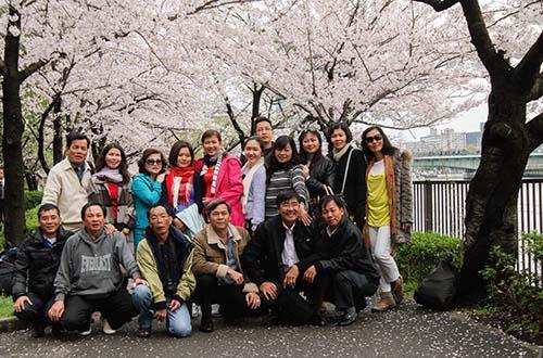 Đoàn BenThanh Tourist tại Nhật Bản