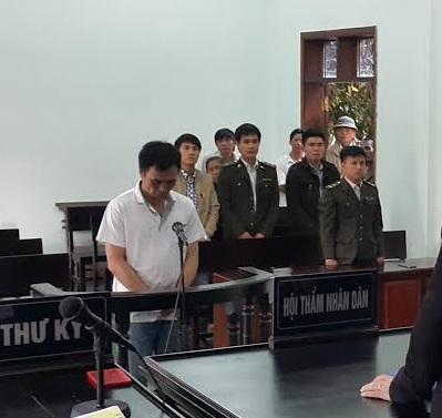 Bị cáo Hoàng Anh Tuấn tại phiên tòa