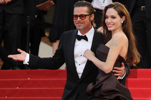 Angelina Jolie và Brad Pitt lần lượt rao bán bất động sản chung. Ảnh: Reuters.