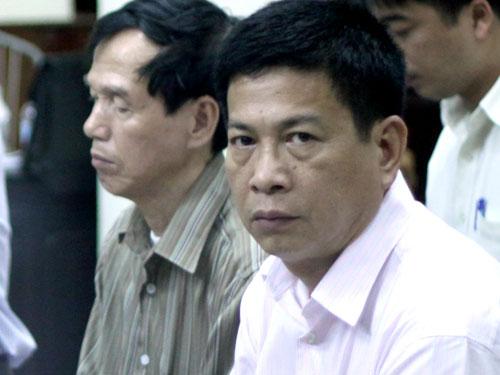 Bùi Tiến Dũng tại phiên toà vào tháng 7-2011- ảnh: Nguyễn Quyết