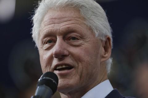 Cựu Tổng thống Mỹ Bill Clinton. Ảnh: AP