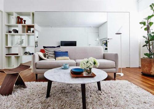 6 mẹo giúp căn hộ nhỏ trở nên rộng và sang