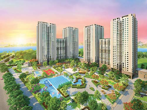 Dự án Saigon South Residences được đánh giá là một trong những dự án có hấp lực tốt nhất trên thị trường hiện nay