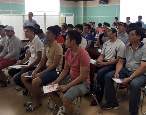 Lao động Việt Nam tại Hàn Quốc. Đây là quốc gia tiếp nhận nhiều thuyền viên Việt Nam Ảnh: VĂN MINH