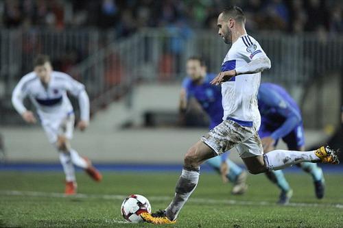 Chanot ghi bàn từ chấm 11m, gỡ hòa cho đội chủ nhà