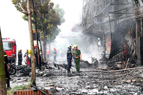 Vụ cháy quán karaoke 68 Trần Thái Tông gây hậu quả đặc biệt nghiêm trọng khiến 13 người thiệt mạng
