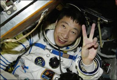 Phi hành gia Dương Lợi Vĩ. Ảnh: Reuters