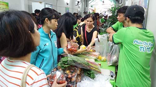 Phiên chợ Xanh - Tử tế khai trương thêm địa điểm mới