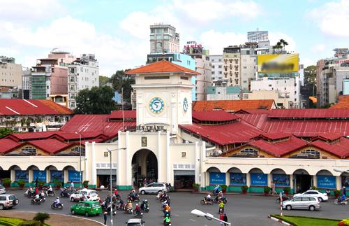 TP HCM sẽ xây trung tâm thương mại ngầm Bến Thành bằng nguồn vay ODA và vốn của nhà đầu tư.