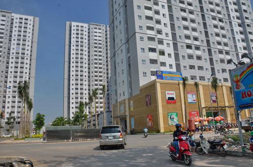 HQC Plaza là dự án nhà ở xã hội hoàn thành kịp trước khi gói tín dụng 30.000 tỉ đồng hết hạn Ảnh: Tấn Thạnh
