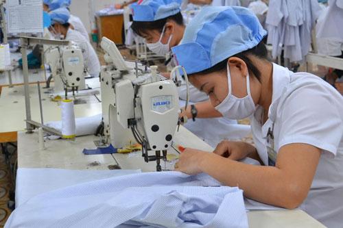 Tập đoàn Dệt may cổ phần hóa từ năm 2014 và sẽ chính thức lên sàn UpCom trong tháng 12-2016Ảnh: Tấn Thạnh