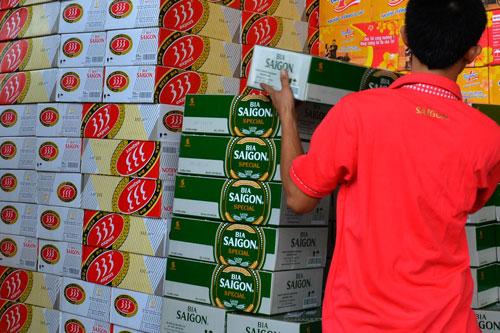 Việc Habeco và Sabeco lên sàn tạo động lực rất lớn cho cổ phiếu ngành bia bứt phá cũng như giúp quá trình thoái vốn nhà nước được thuận lợi Ảnh: Tấn Thạnh