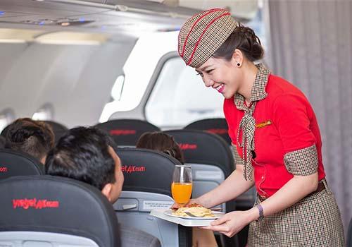 Vietjet là hãng hàng không được yêu thích