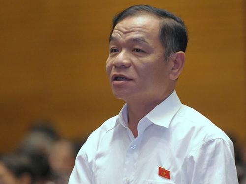 Đại biểu Lê Thanh Vân góp ý trong đầu tư công nên ưu tiên những dự án trọng điểm, cấp bách.Ảnh: NGUYỄN NAM