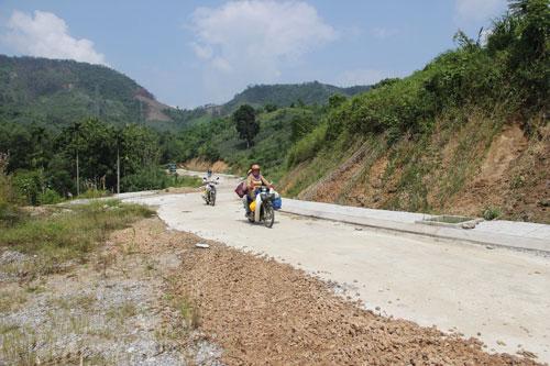 Khu vực dự kiến xây dựng Nhà máy Luyện cán thép Việt Pháp Ảnh: TRẦN THƯỜNG