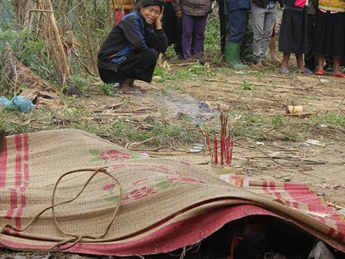Hiện trường vụ án mạng tại Hà Giang
