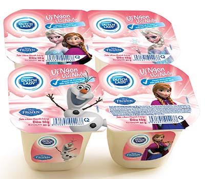 Sữa chua Vị ngon vui nhộn của Dutch Lady