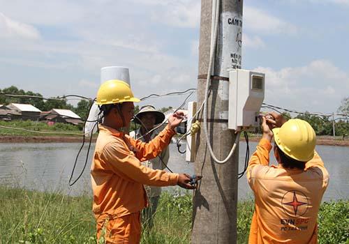 EVN SPC đang nỗ lực đáp ứng đủ điện cho các tỉnh ĐBSCL Ảnh: Đình Hoàng