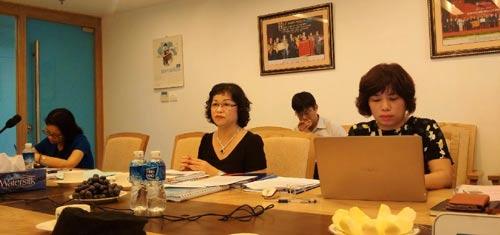 """Lãnh đạo Vinatex làm việc với Báo Người Lao Động về vụ """"hơn 11,5 tỉ đồng đi đâu?"""""""