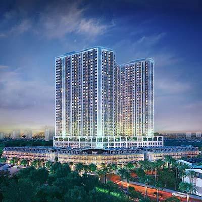 The PegaSuite là dự án bất động sản đang gây sự chú ý tại khu vực Tây Nam TP HCM (hình phối cảnh)