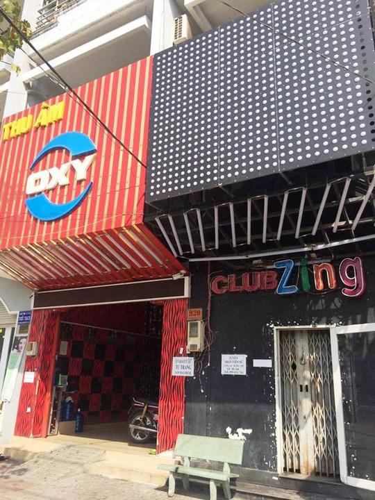 Quán bar Club Zing, nơi xảy ra vụ giết người