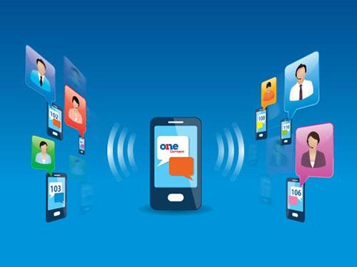 Với OneContact, doanh nghiệp có thể gọi và nhắn tin nội bộ hoàn toàn miễn phí