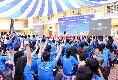 Không khí sôi nổi, hào hứng tại cuộc thi Cùng non sông cất cánh 2016