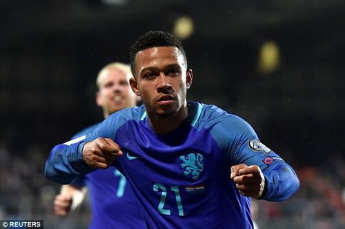 Memphis Depay tỏa sáng với cú đúp, ấn định chiến thắng 3-1 cho Hà Lan