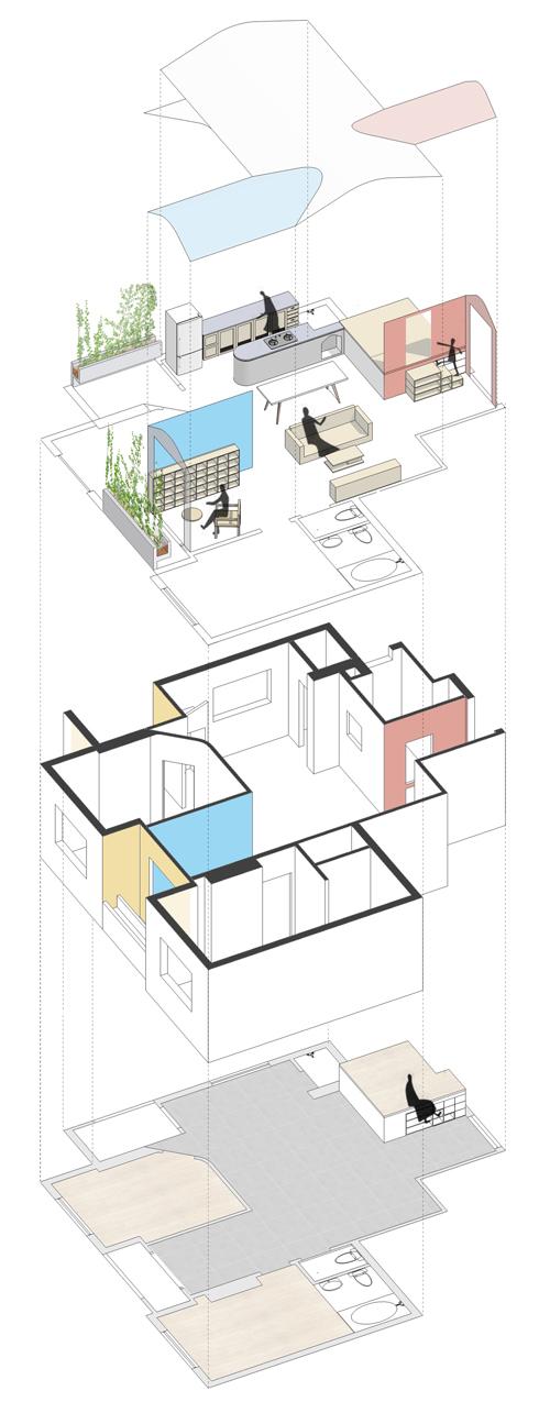 Căn chung cư như ngôi nhà đồ chơi giữa Sài Gòn