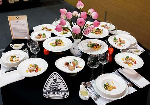Các món ăn của các đôi thi đoạt giải Chiếc thìa vàng 2016