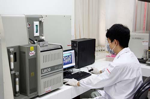 Máy phân tích đạm Dumas tại Ajinomoto Việt Nam