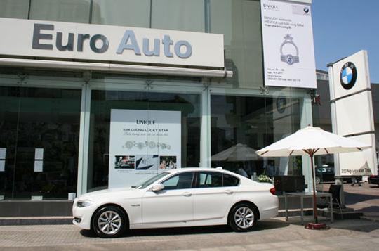 Euro Auto là nhà nhập khẩu và phân phối xe BMW chính hãng tại Việt Nam
