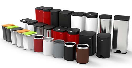 Dòng sản phẩm đầu tiên ra mắt thị trường của Fitis - thùng rác cao cấp kháng khuẩn