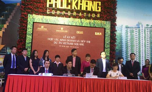 Phuc Khang Corporation ký kết đồng hành với một số đối tác