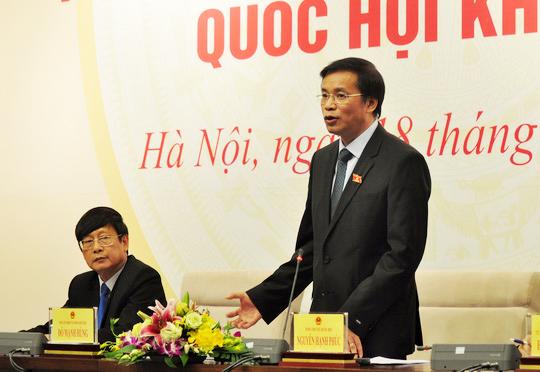 Tổng thư ký QH Nguyễn Hạnh Phúc cho biết kỳ họp thứ 2, QH khóa VIV sẽ có nhiều đổi mới
