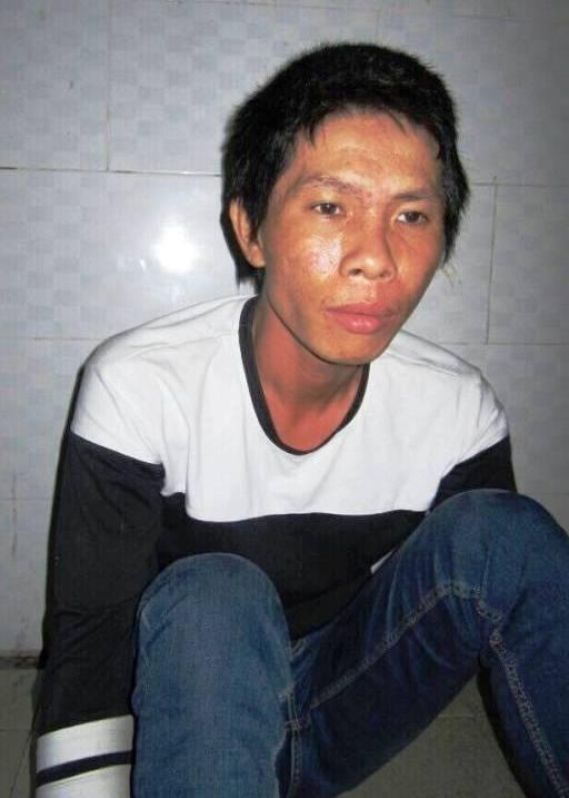Phạm Văn Thanh Tú tại cơ quan công an