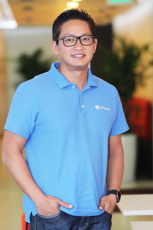 CEO Vũ Minh Trí Ảnh: HOÀNG TRIỀU