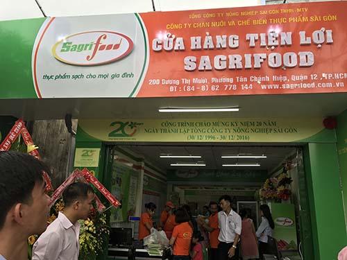 Sagrifood khai trương thêm cửa hàng tiện lợi