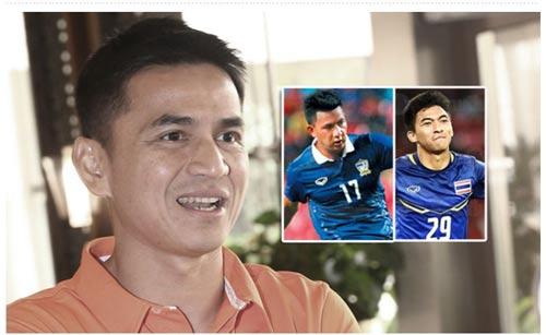 HLV Kiatisuk khi công bố danh sách tuyển Thái Lan dự AFF Cup 2016 Ảnh: Siam Sports