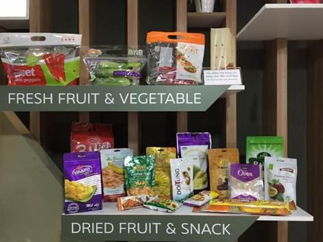 Những giải pháp chính cho thực phẩm tươi sống, trái cây tươi và ngành công nghiệp cà phê/đồ uống.