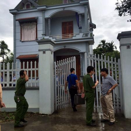 Ngôi nhà xảy ra vụ thảm án đau lòng